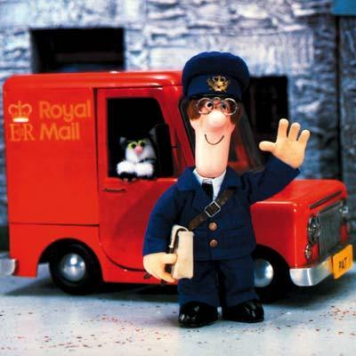 bonus cool points if you can remember Postman Pat's theme song...